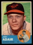 1963 Topps #488  Jerry Adair  Front Thumbnail