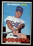 1967 Topps #76  Jim Barbieri  Front Thumbnail