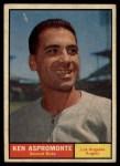 1961 Topps #176  Ken Aspromonte  Front Thumbnail