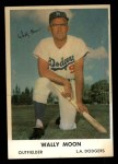 1962 Bell Brand Dodgers #9  Wally Moon  Front Thumbnail