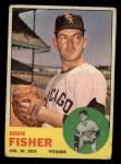 1963 Topps #223  Eddie Fisher  Front Thumbnail