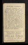 1911 T205  Howie Camnitz  Back Thumbnail