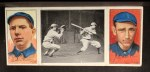 1912 T202 Hassan #121   -  Art Fromme / Larry McLean Tom Jones At Bat  Front Thumbnail
