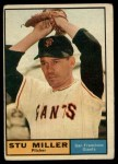 1961 Topps #72  Stu Miller  Front Thumbnail