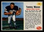 1962 Post #178  Tommy Mason  Front Thumbnail