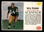 1962 Post #8  Jerry Kramer  Front Thumbnail