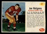 1962 Post #197  Joe Rutgens  Front Thumbnail