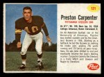 1962 Post #121  Preston Carpenter  Front Thumbnail