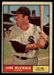 1961 Topps #367  Jim Rivera  Front Thumbnail