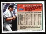 1994 Topps #589  Kent Bottenfield  Back Thumbnail