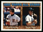 1994 Topps #386   -  Wade Boggs   / Matt Williams All-Star Front Thumbnail