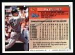 1994 Topps #472  Jay Buhner  Back Thumbnail