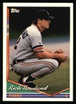 1994 Topps #588  Rich Rowland  Front Thumbnail