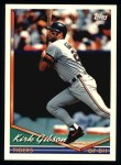 1994 Topps #228  Kirk Gibson  Front Thumbnail