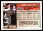 1994 Topps #13  Phil Plantier  Back Thumbnail