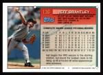 1994 Topps #116  Jeff Brantley  Back Thumbnail
