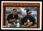 1994 Topps #773  Kurt Abbott  /  Miguel Jimenez  Front Thumbnail