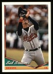 1994 Topps #528  Sid Bream  Front Thumbnail