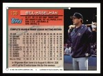 1994 Topps #138  Bill Haselman  Back Thumbnail