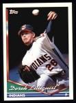1994 Topps #301  Derek Lilliquist  Front Thumbnail