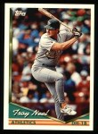 1994 Topps #493  Troy Neel  Front Thumbnail