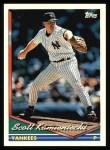 1994 Topps #489  Scott Kamieniecki  Front Thumbnail