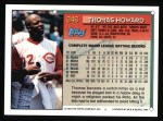 1994 Topps #246  Thomas Howard  Back Thumbnail