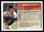 1994 Topps #107  Mike Stanton  Back Thumbnail