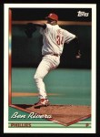 1994 Topps #352  Ben Rivera  Front Thumbnail