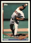 1994 Topps #14  Willie Banks  Front Thumbnail
