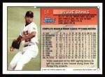 1994 Topps #14  Willie Banks  Back Thumbnail