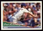 1994 Topps #245  Bret Saberhagen  Front Thumbnail