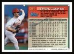1994 Topps #594  Rheal Cormier  Back Thumbnail