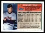 1994 Topps #445  Aaron Sele  Back Thumbnail