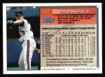 1994 Topps #669  Tim Wakefield  Back Thumbnail