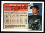 1994 Topps #282  Mike Mohler  Back Thumbnail