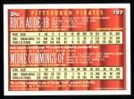 1994 Topps #787  Rich Aude /  Midre Cummings  Back Thumbnail