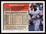 1994 Topps #51  Manuel Lee  Back Thumbnail