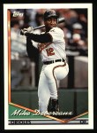 1994 Topps #534  Mike Devereaux  Front Thumbnail