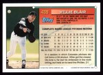 1994 Topps #439  Willie Blair  Back Thumbnail