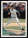 1994 Topps #439  Willie Blair  Front Thumbnail