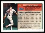 1994 Topps #474  Tim Naehring  Back Thumbnail