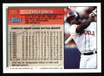 1994 Topps #265  Chili Davis  Back Thumbnail
