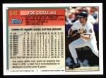 1994 Topps #643  Joe Orsulak  Back Thumbnail