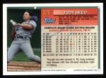 1994 Topps #325  Jody Reed  Back Thumbnail