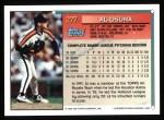 1994 Topps #277  Al Osuna  Back Thumbnail