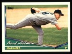 1994 Topps #631  Brad Holman  Front Thumbnail