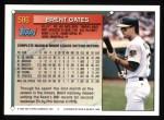 1994 Topps #586  Brent Gates  Back Thumbnail
