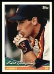 1994 Topps #484  Luis Gonzalez  Front Thumbnail
