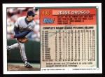 1994 Topps #492  Jesse Orosco  Back Thumbnail